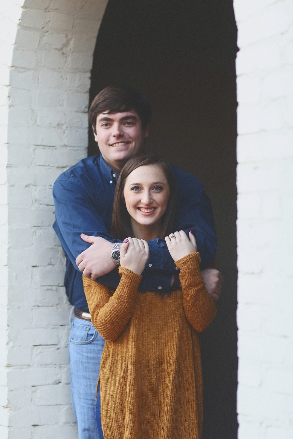 Abbie + Drew : A Railroad Park Engagement Session