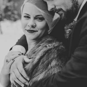 Jackson Hole, Wyoming winter wedding